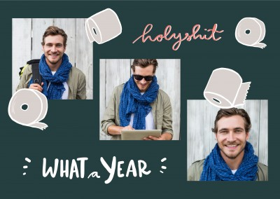 Holy shit, what a year! Toilet paper rolls - Eli Breuing