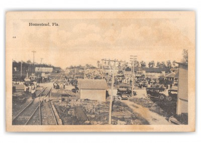 Homestead, Florida, Birds-eye view