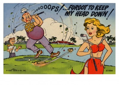 Curt Teich Postcard Archives Collection Ooops forgot to keep my head down