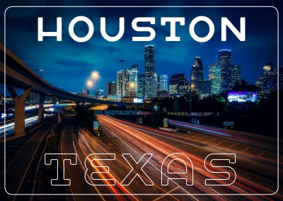 photo de Houston par nuit