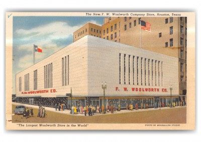 Houston, Texas, New FW Woolworth Company Store