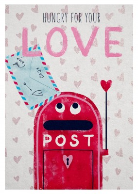 illustration post box