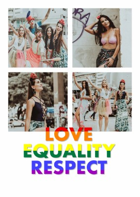 love equality respect quote