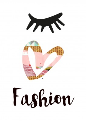 illustration Eye-love fashion Collage