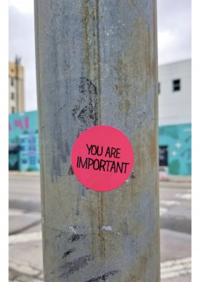 postcard You are important