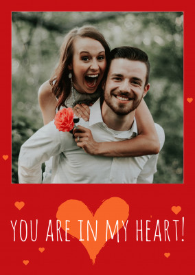 You are in my heart!