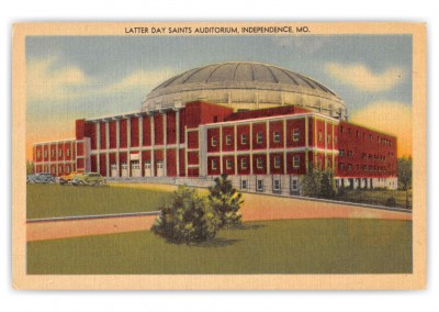 Independence Missouri Latter Day Saints Auditorium
