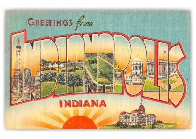 Indianapolis, Indiana Greetings