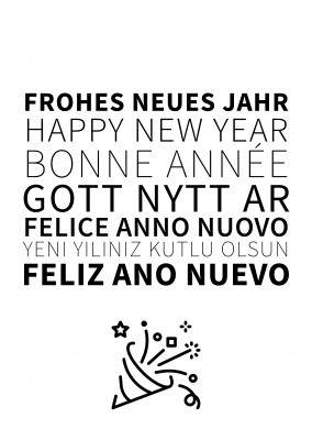 happy new year many languages