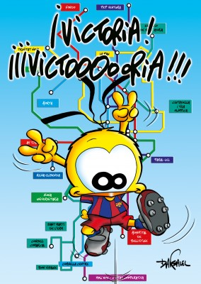 Le Piaf Cartoon Victoria