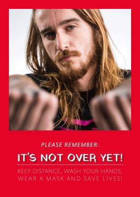 Please remember: IT'S NOT OVER YET!