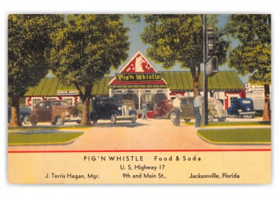 Jacksonville, Florida, Pig'N Whistle Food and Soda
