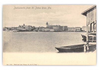 Jacksonville, Florida, view from St. Johns River
