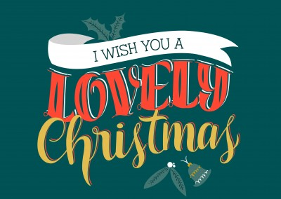 I WISH YOU A LOVELY CHRISTMAS