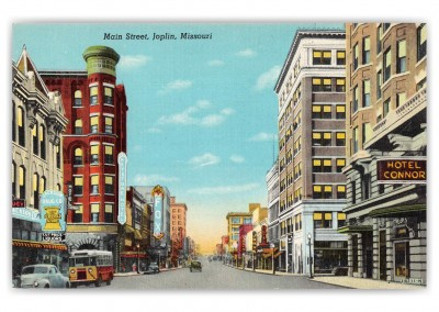Joplin Missouri Main Street Hotel Connor