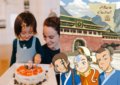 AVATAR: The Last Airbender Postkarte alles Gute
