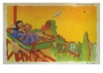 Curt Teich Postcard Archives Collection  lots of thrills here