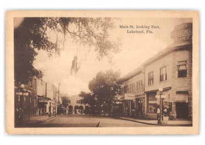 Lakeland, Florida, Main Street lookin east