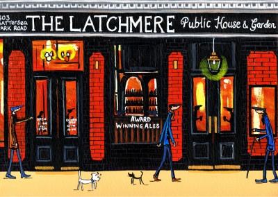 Illustration South London Artist Dan South London Artist Dan The Latchmere
