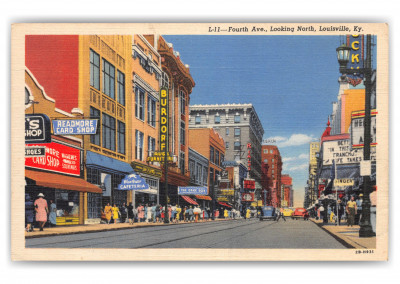 Louisville, Kentucky, Fourth Avenue looking north