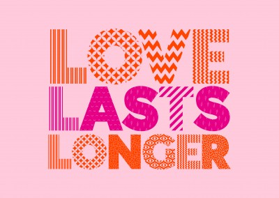 Love lasts longer