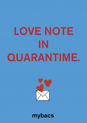 Love note in quarantime