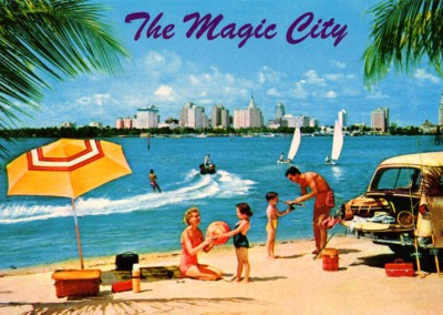 Curt Teich Postcard Archives Collection Miami, the magic city