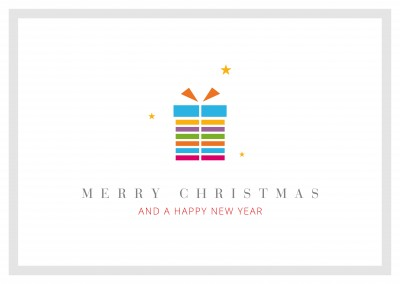 Meridian Design Merry Christmas & a Happy New Year gift