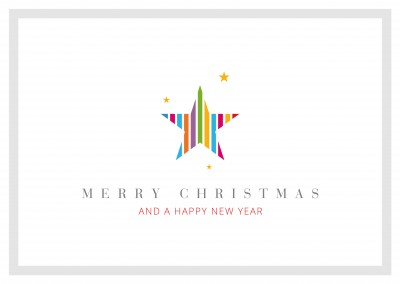 meridian design merry christmas a happy new year star