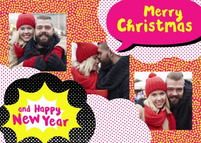 Merry Christmas and Happy New Year - Bletti