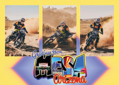 Large Letter Postcard Site – Greetings from Mesa, Arizona
