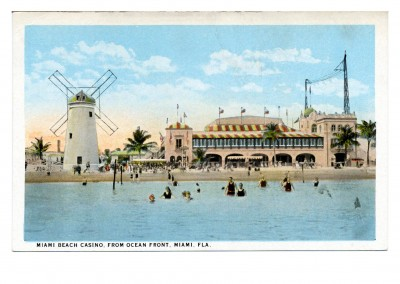 Curt Teich Postcard Archives Collection Miami Beach Casino
