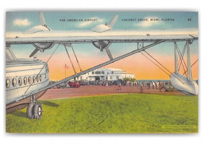 Miami Florida Coconut Grove Pan American Airport
