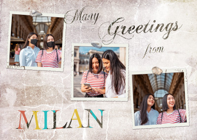 Many greetings from Milan