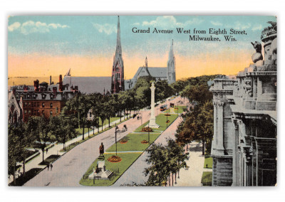 Milwaukee, Wisconsin, Grand Avenue West from 8th street