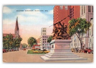 Milwaukee, Wisconsin, Soldiers' Monument