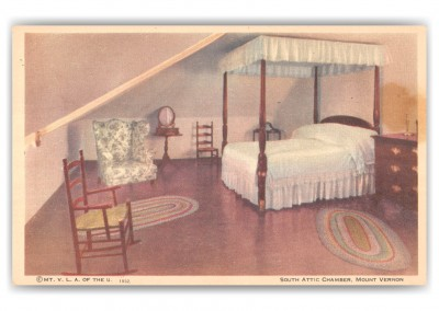 Mount Washington, Virginia, South Attic Chamber