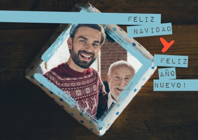 Feliz Navidad + feliz año nuevo