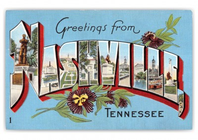 Nashville, Tennessee, Greetings from