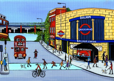 Illustration South London Artist Dan New Balham