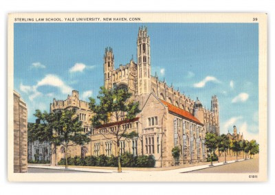 New Haven, Connecticut, Sterling Law School at Yale Univeristy