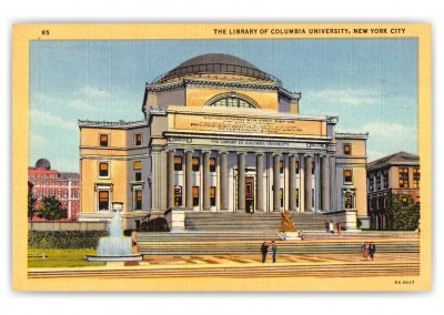 New York City, New York, The Library of Columbia University