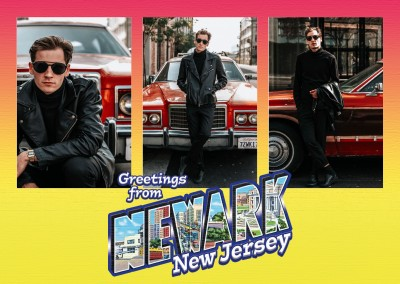 Large Letter Postcard Site  Greetings from Newark, New Jersey