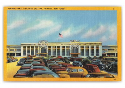 Newark New Jersey Pennsylvania Railroad Station