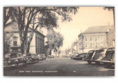 Newburyport, Massachusetts, Green Street
