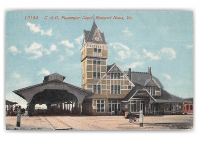 Newport News Virginia Passenger Depot