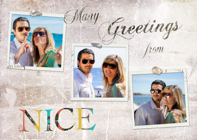 Many greetings from Nice