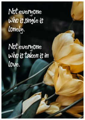 Love Cards Quote Not everyone