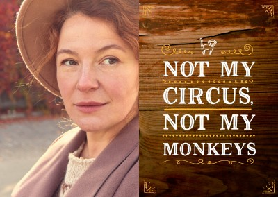 not my circus not my monkeys Spruchkarte