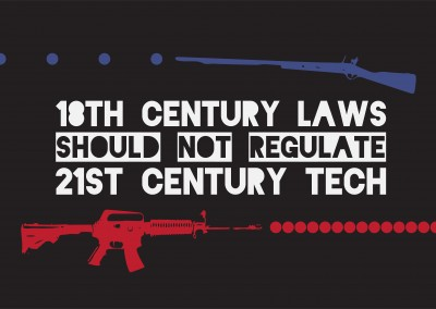 18th century laws should not regulate 21st century tech.